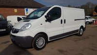 2010 VAUXHALL VIVARO 2900 CDTI LWB WITH AIR CON & FULL ELECTRIC PACK FROM THAMES WATER £6695.00
