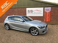 USED 2014 14 BMW 1 SERIES 2.0 118D M SPORT 3d 141 BHP Genuine 41k