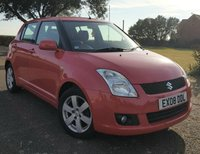 2008 SUZUKI SWIFT 1.5 GLX 5d 100 BHP £3295.00