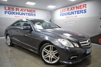 2010 MERCEDES-BENZ E CLASS 3.0 E350 CDI BLUEEFFICIENCY SPORT 2d AUTO 231 BHP £10999.00