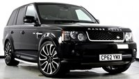 """USED 2012 62 LAND ROVER RANGE ROVER SPORT 3.0 SD V6 HSE Red Edition 4X4 5dr Auto [8] Digital TV, Reverse Cam, 22""""s"""