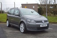 2014 VOLKSWAGEN TOURAN 1.6 S TDI BLUEMOTION TECHNOLOGY 5d 103 BHP £9250.00