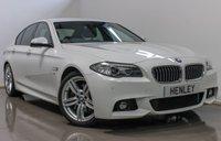 2015 BMW 5 SERIES 2.0 525D M SPORT 4d AUTO 215 BHP £18990.00