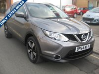 USED 2015 64 NISSAN QASHQAI 1.5 DCI N-TEC PLUS 5d 108 BHP only 13,696 miles, 1 owner, zero road tax, service history, 360 degree cameras, sat nav, panoramic roof.