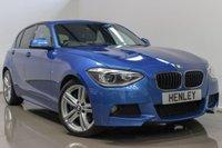 2014 BMW 1 SERIES 2.0 120D M SPORT 5d AUTO 181 BHP £12990.00