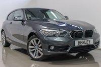2016 BMW 1 SERIES 1.5 118I SPORT 3d 134 BHP £13990.00