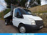 2014 FORD TRANSIT 2.2 350 DRW 1d 124 BHP Tipper Single cab  £12470.00