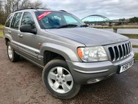 2001 JEEP GRAND CHEROKEE 3.1 LIMITED TD 5d AUTO 138 BHP £1800.00