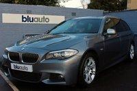 2013 BMW 5 SERIES 2.0 525D M SPORT TOURING 5d AUTO 215 BHP £15995.00