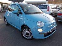 2013 FIAT 500 1.2 LOUNGE 3d 69 BHP £6495.00