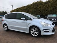 2012 FORD S-MAX 2.0 TDCI TITANIUM X SPORT AUTOMATIC (163BHP) IN THE BEST COLOUR  £12000.00