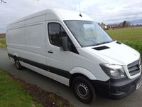 USED 2015 64 MERCEDES-BENZ SPRINTER 2.1 313 CDI LWB 1d 129 BHP