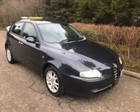 USED 2002 52 ALFA ROMEO 147 1.6 T.SPARK 16V LUSSO 5d 118 BHP 6 MONTHS PARTS+ LABOUR WARRANTY+AA COVER
