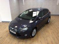 2012 FORD FOCUS 1.6 TITANIUM 5d AUTO 124 BHP £8995.00