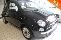 USED 2015 64 FIAT 500 1.2 C LOUNGE 3d 69 BHP VIEW 360 INTERIOR PICTURES AND RESERVE DIRECT FROM OUR WEBSITE