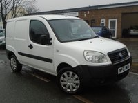 USED 2007 07 FIAT DOBLO 1.2 16V MULTIJET 1d 74 BHP GREAT VALUE DIESEL VAN + NEW MOT