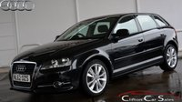 USED 2012 62 AUDI A3 1.4 TFSi SPORT 5 DOOR SPORTBACK 6-SPEED 123 BHP Finance? No deposit required and decision in minutes.