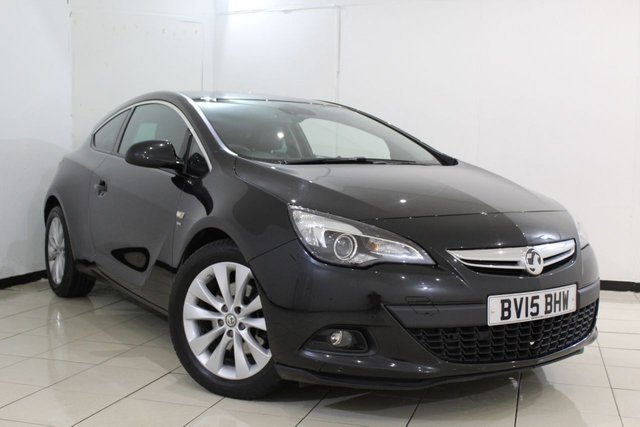 View our 2015 15 VAUXHALL ASTRA 1.4 GTC SRI 3DR AUTOMATIC 138 BHP