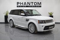 2012 LAND ROVER RANGE ROVER SPORT 3.0 SDV6 AUTOBIOGRAPHY SPORT 5d AUTO 255 BHP £26990.00