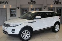 USED 2013 63 LAND ROVER RANGE ROVER EVOQUE 2.2 SD4 PURE 5d 190 BHP FULL BLACK LEATHER SEATS + FULL SERVICE HISTORY + BLUETOOTH + PARK ASSIST + HEATED FRONT SEATS + 18 INCH ALLOYS + DAB RADIO + HALOGEN HEADLIGHTS + CRUISE CONTROL