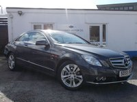 2010 MERCEDES-BENZ E CLASS 1.8 E200 CGI BLUEEFFICIENCY SE 2d 184 BHP £10995.00