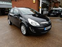 USED 2013 63 VAUXHALL CORSA 1.4 SE 5d 98 BHP TWO KEYS,HEATED SEATS AND STEERING WHEEL,AIR CON,SERVICE RECORD
