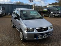 USED 2004 04 SUZUKI ALTO 1.1 GL 5d 62 BHP Its so cheap to Run !! Only £30 a year road tax Great Mpg, Low Miles !!! Book your test drive today 01536 402161
