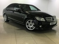 USED 2010 10 MERCEDES-BENZ C CLASS C200 CDI BlueEFFICIENCY Sport 4dr