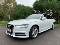 USED 2015 65 AUDI A6 2.0 AVANT TDI ULTRA S LINE 5d 188 BHP TOP SPEC BEST COLOUR SCHEME ONE OWNER FSH AUDI WARRANTY