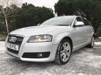 USED 2010 10 AUDI A3 1.6 TDI SPORT 5d 103 BHP 1 OWNER 5 DOOR A3 ONLY£30 TAX FSH