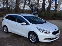 USED 2015 64 KIA CEED 1.6 CRDI 2 ECODYNAMICS 5d 126 BHP Estate car, Cruise control & Bluetooth