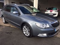 USED 2012 12 SKODA SUPERB 1.6 SE PLUS TDI CR 5d 104 BHP