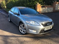 2009 FORD MONDEO 2.0 ZETEC 145 5d 144 BHP PLEASE CALL TO VIEW £SOLD