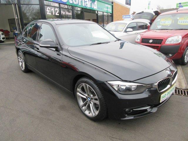 USED 2012 62 BMW 3 SERIES 2.0 320D SPORT 4d 184 BHP 12 MONTHS MOT... 6 MONTH WARRANTY... FULL SERVICE HISTORY
