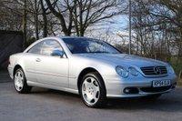 2004 MERCEDES-BENZ CL 5.0 CL 500 2d AUTO 302 BHP £4250.00