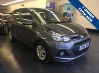 USED 2015 15 HYUNDAI I10 1.0 SE 5d 65 BHP 1 OWNER FROM NEW, REMAINDER OF THE 5 YEAR WARRANTY UNTIL MARCH 2020