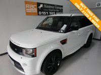 USED 2012 62 LAND ROVER RANGE ROVER SPORT 3.0 SDV6 HSE RED 5d AUTO 255 BHP ££££ OF SPEC CALL TO DAY BE QUICK