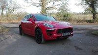 2016 PORSCHE MACAN 3.0 GTS PDK AUTO 355 BHP £58950.00