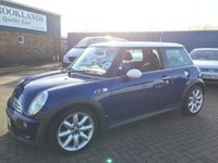 USED 2003 03 MINI HATCH COOPER 1.6 COOPER S 3d 161 BHP just came into stock more photos and video to follow !!!