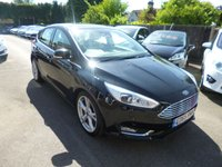USED 2015 65 FORD FOCUS 1.5 TDCI TITANIUM X NAVIGATOR 120 BHP THIS VEHICLE IS AT SHOWROOM 1 - TO VIEW CALL US ON 01903 892224