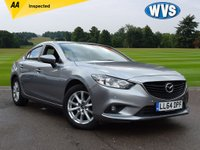 USED 2014 64 MAZDA 6 2.2 D SE-L 4d 148 BHP A full maintenance print off it with this car that includes details of 5 Mazda services. 1 keeper from new with 2 keys and an AA report. A popular car for just £8499.