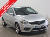 USED 2012 62 KIA PRO_CEE'D 1.6 PRO CEED 3 CRDI 3d 113 BHP ***Service History, Air Con, Aux,USB, Auto Headlights and comes with a Free RAC Warranty***
