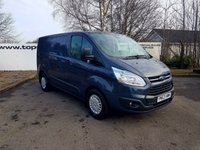 2013 FORD TRANSIT CUSTOM  270 2.2 125 BHP TREND L1 H1 P/V CHOOSE FROM 70 VANS £8999.00