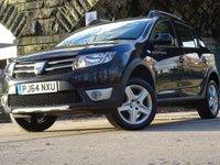2015 DACIA SANDERO 0.9 STEPWAY LAUREATE TCE 5d 90 BHP £6944.00
