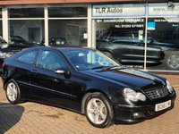 2006 MERCEDES-BENZ C CLASS 1.8 C180 KOMPRESSOR SE SPORTS 3d 141 BHP £3495.00