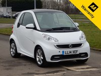 2014 SMART FORTWO 1.0 EDITION 21 MHD 2d AUTO 71 BHP £4995.00