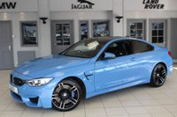 USED 2014 14 BMW M4 3.0 2d AUTO 426 BHP FULL BLACK LEATHER SEATS + PRO SAT NAV + ENHANCED BLUETOOTH + DAB RADIO + HEATED FRONT SEATS + 19 INCH ALLOYS + M DCT WITH DRIVE LOGIC + XENON HEADLIGHTS + CRUISE CONTROL