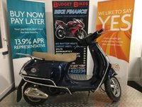 2011 PIAGGIO VESPA LX 124cc LX 125/4T (EURO 3)/IE TOURING  £1490.00