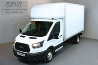 USED 2017 17 FORD TRANSIT 2.0 350 L3 C/C 3d 168 BHP LWB EURO 6 ENGINE REAR WD LUTON VAN ONE OWNER FROM NEW