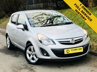 USED 2012 62 VAUXHALL CORSA 1.2 1d  , ANY INSPECTION WELCOME ---- ALWAYS SERVICED ON TIME EVERY TIME AND SERVICED MAINLY BY SAME DEALERSHIP THROUGHOUT ITS LIFE,NO EXPENSE SPARED, KEPT TO A VERY HIGH STANDARD THROUGHOUT ITS LIFE, A REAL TRIBUTE TO ITS PREVIOUS OWNER, LOOKS AND DRIVES REALLY NICE IMMACULATE CONDITION THROUGHOUT, MUST BE SEEN FOR THE PRICE BARGAIN BE QUICK, 6 MONTHS WARRANTY AVAILABLE,DEALER FACILITIES,WARRANTY,FINANCE,PART EX,FIRST TO SEE WILL BUY BARGAIN